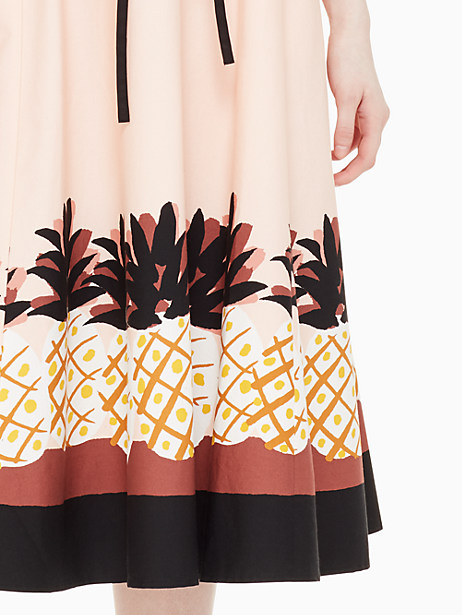 pineapple patch shirtdress by kate spade new york