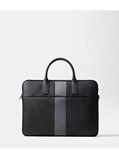 Striped Barrow Leather Portfolio Brief