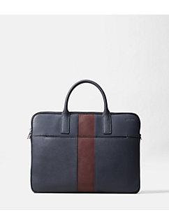 Striped Barrow Leather Portfolio Brief