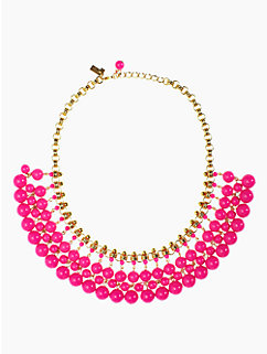 sweet as pie cluster bead collar