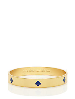 kate spade new york colored spade bangle by kate spade new york