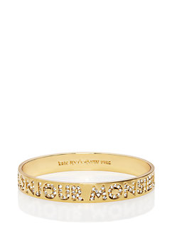 bonjour idiom bangle by kate spade new york