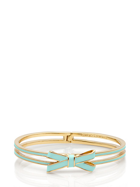 kate spade - double bow hinge bangle