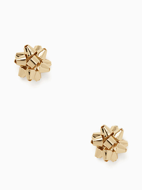 Absolutely darling kate spade bourgeois bow stud earrigns - on sale for $19 - these will sell out quickly!