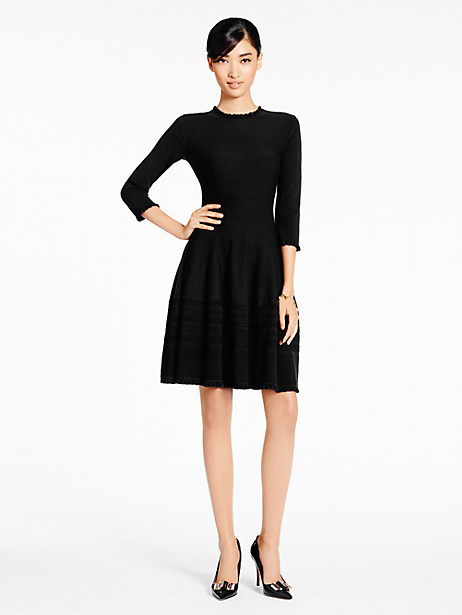 Darling kate spade pointelle sweater dress
