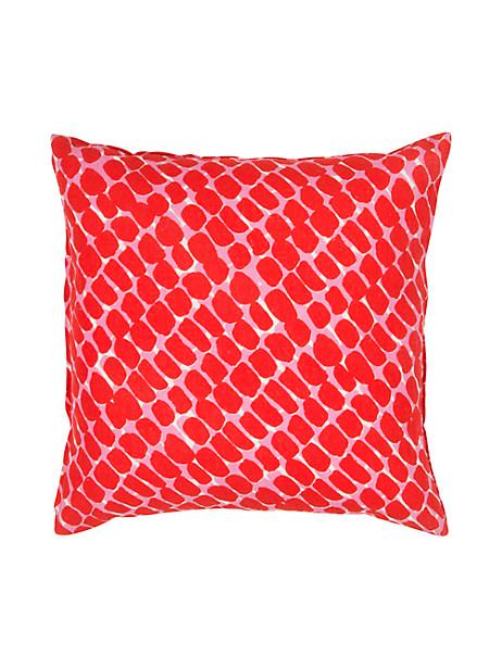Kate Spade Dobbins Pillow, Maraschino