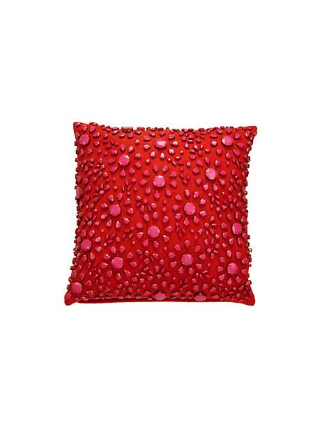 Kate Spade Floral Burst Pillow, Marachino