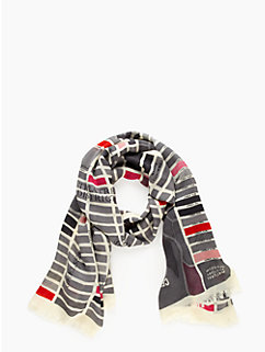 girl about town scarf