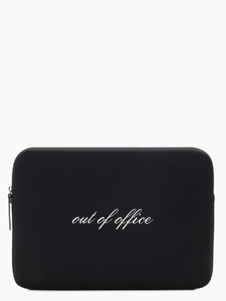 'out of office'' 13'' laptop sleeve