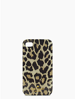 leopard ikat iphone 4 case