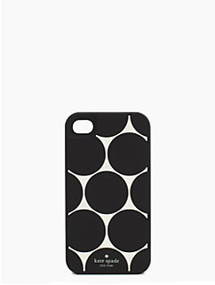 deborah dot silicone iphone 4 case