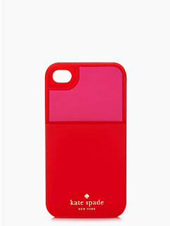 colorblocked silicone iphone 4 case