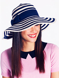 stripe sun hat