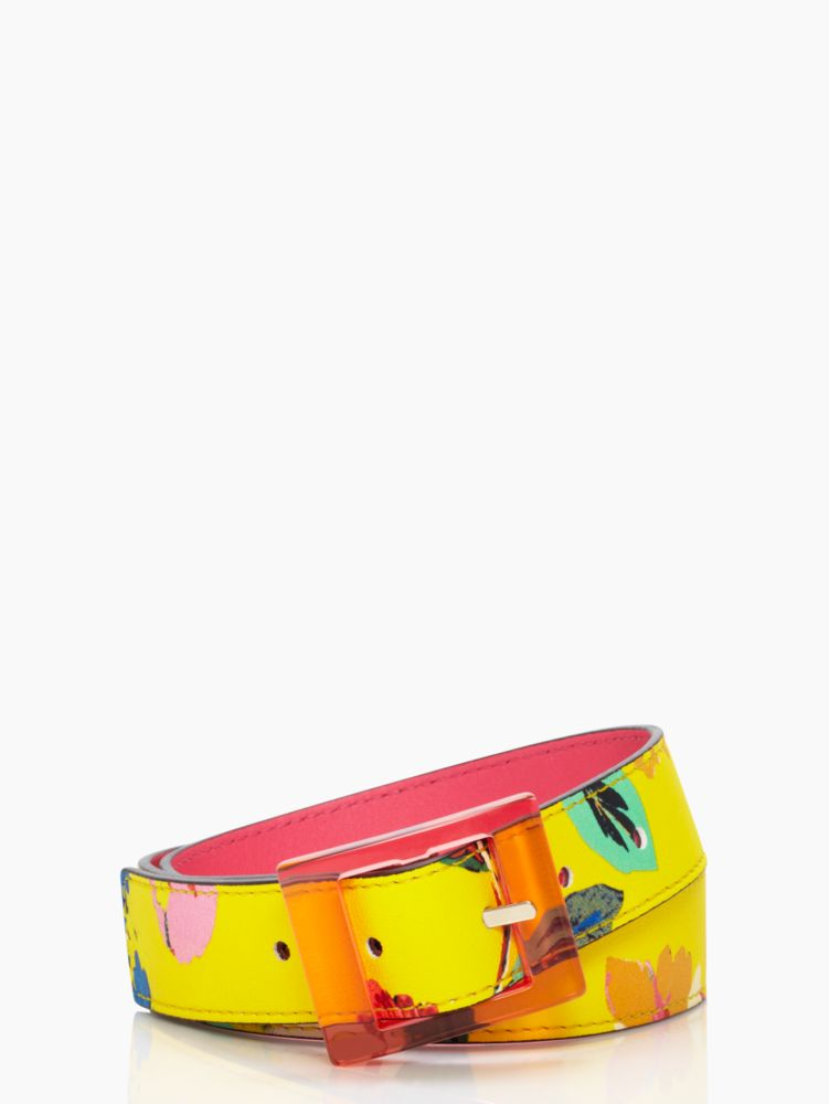 reversible printed trouser belt