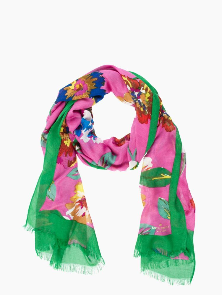 in full bloom jumbo blossom scarf