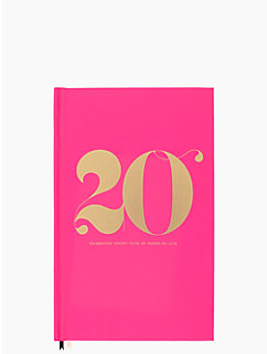 20th anniversary journal