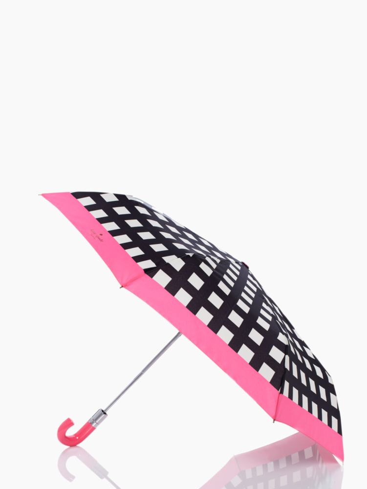 pop art check umbrella