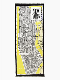new york map scarf by kate spade new york