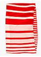 infinity scarf, maraschino/blush