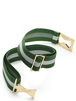 interlocking bow elastic belt by kate spade new york