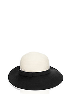 fancy meeting you colorblock webbing sun hat by kate spade new york