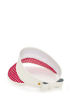 caning visor by kate spade new york