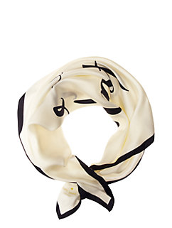 wedding belles tie the knot silk square by kate spade new york