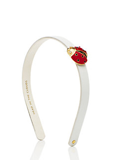 ladybug leather headband by kate spade new york
