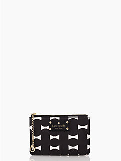 bow shoppe small flat pouch