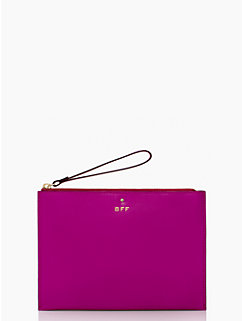 wedding belles medium bella wristlet by kate spade new york