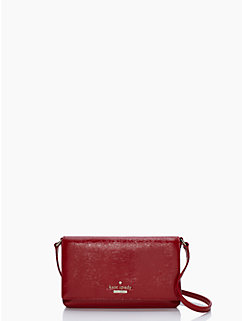 cedar street patent aster by kate spade new york