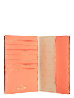 wedding belles travel passport holder by kate spade new york
