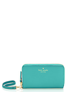 cedar street jordie tech wristlet by kate spade new york
