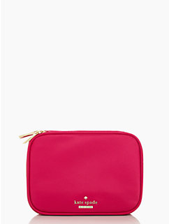 classic nylon travel jewelry case by kate spade new york