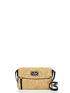 cobble hill straw mini carson by kate spade new york