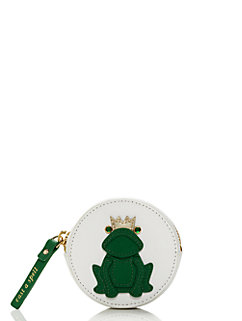 wedding belles frog coin purse by kate spade new york