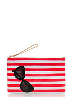 splash out sunglasses bikini pouch by kate spade new york
