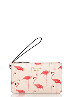 cedar street flamingos slim bee by kate spade new york