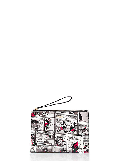 kate spade new york for minnie mouse minnie comic medium bella by kate spade new york