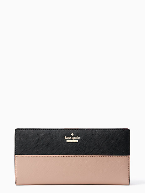Kate Spade Cameron Street Large Stacy, Black/Toasted Wheat