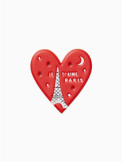 ashe place leather heart sticker by kate spade new york