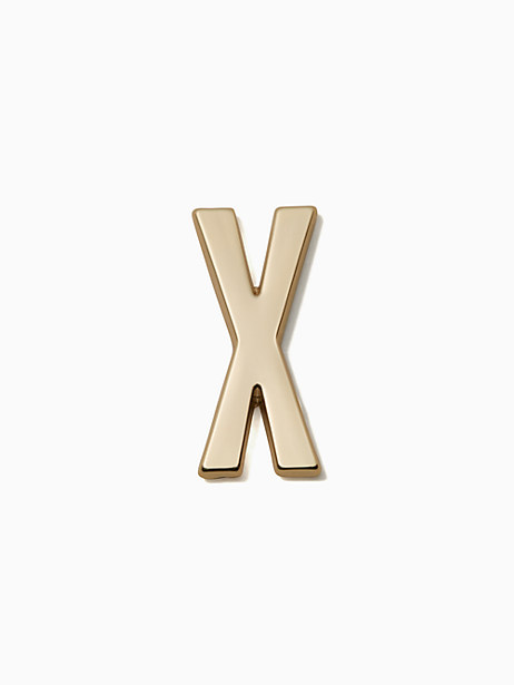 Kate Spade Ashe Place Initial Sticker, X