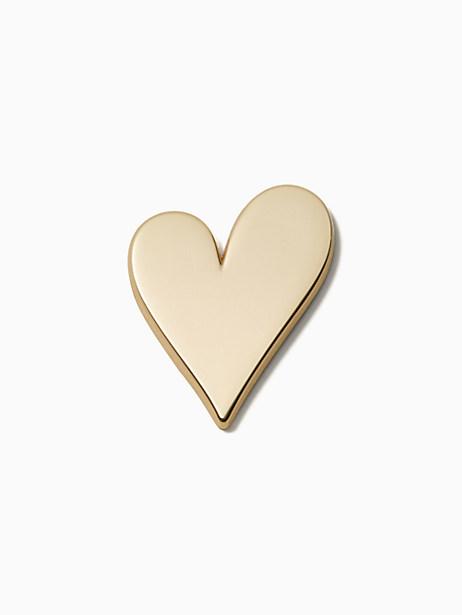 Kate Spade Ashe Place Heart Sticker, Gold