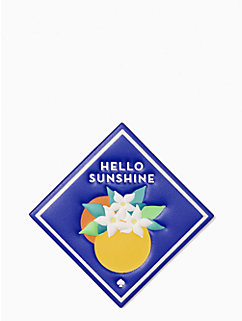 ashe place hello sunshine sticker by kate spade new york