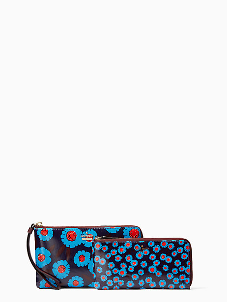 Kate Spade Cameron Street Tangier Floral Alfre, Peacock Blue