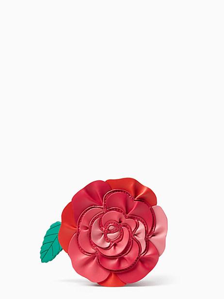 Kate Spade Rambling Roses Coin Purse, Red