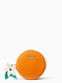 spice things up orange coin purse by kate spade new york
