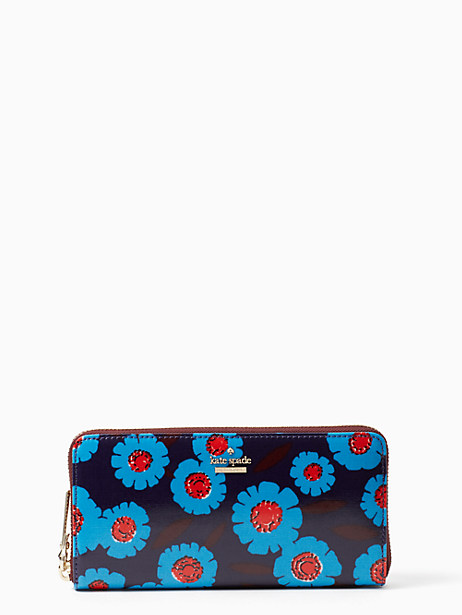 Kate Spade Cameron Street Tangier Floral Lacey, Peacock Blue