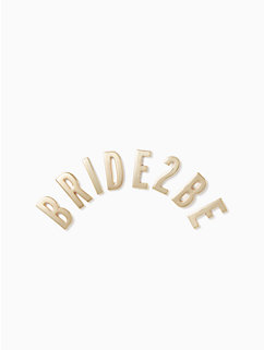 ashe place bride 2 be sticker by kate spade new york