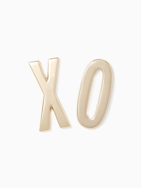 Kate Spade Ashe Place Xo Sticker Set, Gold